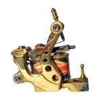 tattoo-machine-egiziana-polished-brass